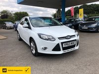 USED 2013 63 FORD FOCUS 1.6 ZETEC TDCI 5d 113 BHP NEED FINANCE? WE CAN HELP!