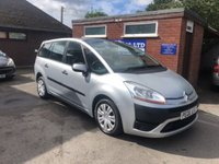 USED 2008 CITROEN C4 GRAND PICASSO 1.8 SX I 16V 5d 124 BHP PREVIOUSLY SUPPLIED BY US, 7 SEATER