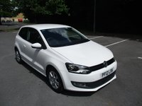 USED 2012 12 VOLKSWAGEN POLO 1.2 MATCH 3d 59 BHP GREAT VALUE VW POLO MATCH !!