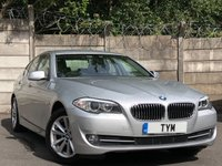 USED 2012 12 BMW 5 SERIES 2.0 520D SE 4d AUTO 181 BHP BLUETOOTH/LEATHER/DIESEL/PDC