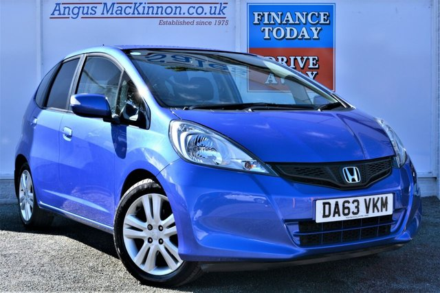 2014 63 HONDA JAZZ 1.3 I-VTEC ES PLUS Lovely Low Mileage 5dr Petrol with Full Service History