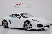 2013 PORSCHE CAYMAN 3.4 24V S PDK 2d AUTO 325 BHP HUGE SPECIFICATION 22 MONTHS PORSCHE WARRANTY £37950.00