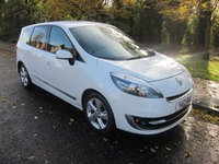 2012 RENAULT GRAND SCENIC 1.5 DYNAMIQUE TOMTOM ENERGY DCI S/S 5d 110 BHP £7900.00