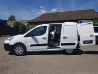 2014 PEUGEOT PARTNER 3 SEAT 850 PROFESSIONAL WITH AIR CON & TWIN SIDE DOORS £6695.00