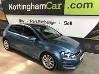 2013 VOLKSWAGEN GOLF 2.0 GT TDI BLUEMOTION TECHNOLOGY 5d 148 BHP £8195.00