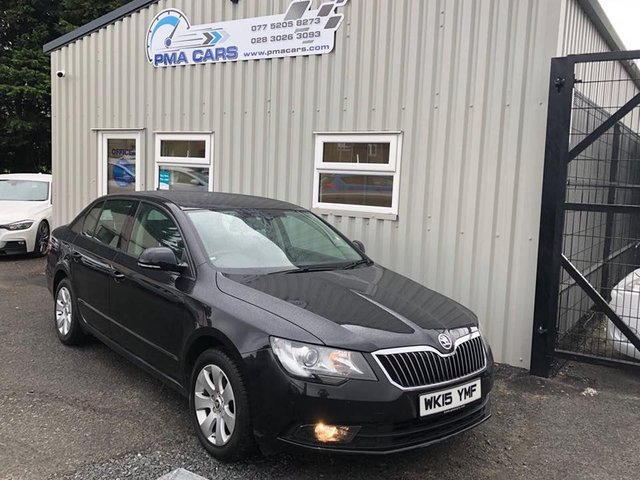 2015 15 SKODA SUPERB 1.6 S TDI CR 104 BHP 5DR HATCHBACK