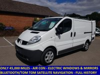 2012 RENAULT TRAFIC SL27 DCI 90 SWB WITH AIR CON & ELECTRIC PACK £7295.00