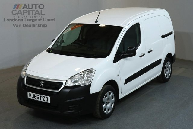 2016 66 PEUGEOT PARTNER 1.6 BLUE HDI PROFESSIONAL 100 BHP SWB LOW ROOF AIR CON E6