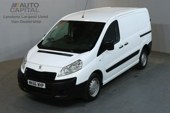 2016 PEUGEOT EXPERT 1.6 HDI 1000 PROFESSIONAL 90 BHP L1 H1 SWB LOW ROOF AIR CON £8690.00