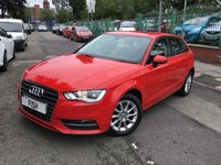 USED 2014 14 AUDI A3 1.6 TDI SE 5d 109BHP NEW SHAPE 1OWNER+2KEYS+HISTORY+MEDIA+AC+