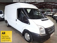 """USED 2012 12 FORD TRANSIT 2.2 280 100 BHP MWB SEMI HI ROOF-ONE OWNER-LOW MILEAGE-SERVICE HISTORY    """"YOU'RE IN SAFE HANDS"""" - AA DEALER PROMISE"""