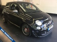 USED 2010 10 ABARTH 500 1.4 ABARTH 3d 135 BHP FULL SERVICE HISTORY, RAC WARRANTY AND 12 MONTHS RAC RECOVERY