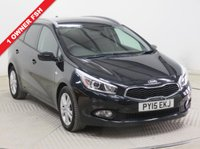 USED 2015 15 KIA CEED 1.6 CRDI 1 ECODYNAMICS 5d 126 BHP ***1 Owner, Full Service History serviced in June 2016 at 12,606, July 2017 at 20,245 miles and August 2018 at 27,324 miles. MOT until 28th June 2019. KIA Warranty until June 2020. Privacy Glass, Bluetooth, Air Conditioning, Alloys, USB/AUX, Alloys and only £30 Road Fund Licence. Nationwide Delivery Available. Finance Available at 9.9% APR representative.***