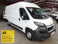 USED 2015 15 PEUGEOT BOXER 2.2 HDI 335 L3H2 PROFESSIONAL P/V 130 BHP '' YOU'RE IN SAFE HANDS  ''  WITH THE AA DEALER PROMISE