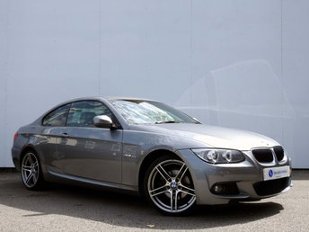 2012 BMW 3 SERIES 2.0 320D M SPORT 2d AUTO 181 BHP