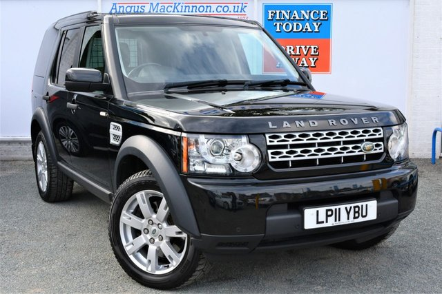 2011 11 LAND ROVER DISCOVERY 4 3.0 SDV6 COMMERCIAL 4x4 AUTO Absolutely Stunning Vehicle with Full Service History