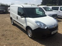 USED 2015 65 VAUXHALL COMBO 1.2 2000 L1H1 CDTI 1d 90 BHP VERY ECONOMICAL 71000 MILES ONE OWNER FROM NEW