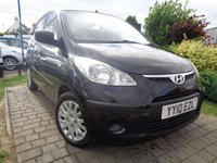 USED 2010 10 HYUNDAI I10 1.2 CLASSIC 5d 77 BHP **FSH 10 Stamps £30 Tax May 2019 Mot**