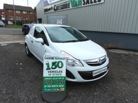 2012 VAUXHALL CORSA 1.2 CDTI ECOFLEX 75 BHP NO VAT TO PAY ON THIS VAN  £2995.00