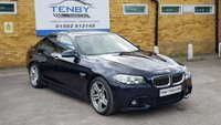 2015 BMW 5 SERIES 3.0 530D M SPORT 4d AUTO 255 BHP £16984.00