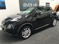 USED 2015 15 NISSAN JUKE 1.2 ACENTA DIG-T 5d 115 BHP One owner. Recent service. Low mileage example.
