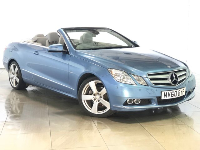 View our 2010 60 MERCEDES-BENZ E CLASS 2.1 E220 CDI BLUEEFFICIENCY SE 2d AUTO 170 BHP