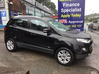 2015 FORD ECOSPORT 1.5 TITANIUM 5d 110 BHP, only 36000 miles, 1 Owner £8995.00