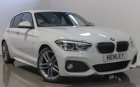 2016 BMW 1 SERIES 2.0 118D M SPORT 5d 147 BHP £15990.00