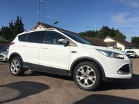 2015 FORD KUGA 2.0 TDCi TITANIUM 5d 150BHP WITH APPEARANCE PACK £11250.00