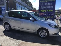 2015 RENAULT SCENIC 1.5 DYNAMIQUE TOMTOM DCI EDC 5d AUTO 110 BHP, only 38000 miles, 1 Owner £9495.00