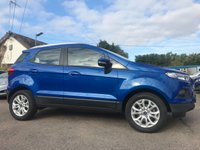 2016 FORD ECOSPORT 1.0 ZETEC ECOBOOST 5d 125 BHP  ONE PRIVATE OWNER FROM NEW £9000.00