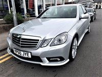 2010 MERCEDES-BENZ E CLASS 3.0 E350 CDI BLUEEFFICIENCY SPORT 4d AUTO 265 BHP £12495.00