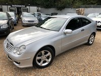 USED 2005 05 MERCEDES-BENZ C CLASS 1.8 C180 KOMPRESSOR SE SPORTS 3d AUTO 141 BHP
