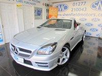 2012 MERCEDES-BENZ SLK 2.1 SLK250 CDI BLUEEFFICIENCY AMG SPORT 2d AUTO 204 BHP £12495.00