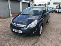 USED 2011 11 VAUXHALL CORSA 1.4 SE 5d AUTO 98 BHP FULL MAIN DEALER HISTORY-1 OWNER-LOW MILEAGE-AUTOMATIC-HEATED SEATS & HEATED STEERING WHEEL-CRUISE CONTROL