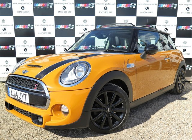 2014 14 MINI HATCH COOPER 2.0 COOPER S 3d 189 BHP