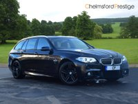 USED 2014 64 BMW 5 SERIES 3.0 530D M SPORT TOURING 5d AUTO 255 BHP