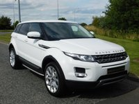 "USED 2013 13 LAND ROVER RANGE ROVER EVOQUE 2.2 SD4 PURE TECH 5d AUTO 190 BHP SAT NAV, PRIVACY, 20"" ALLOYS"