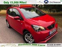 2013 SEAT MII 1.0 TOCA 5d 59 BHP £5495.00