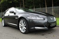 USED 2013 13 JAGUAR XF 3.0 D V6 PREMIUM LUXURY SPORTBRAKE 5d AUTO 240 BHP A STUNNING ONE OWNER XF WITH HIGH SPECIFICATION AND FULL JAGUAR SERVICE HISTORY!!!