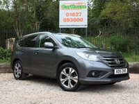 USED 2015 15 HONDA CR-V 2.0 I-VTEC SR 5dr 4X4 Sat Nav, Half Leather, Cruise