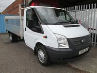 2013 FORD TRANSIT 350 EF 13ft 6 4 Metre Alloy Dropside with Tail lift 125 PS £10495.00
