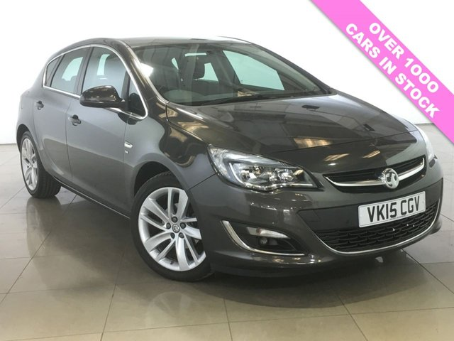 View our 2015 15 VAUXHALL ASTRA 1.6 SRI 5d AUTO 115 BHP