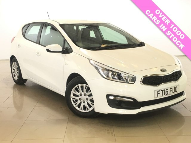View our 2016 16 KIA CEED 1.6 CRDI 1 ISG 5d 134 BHP