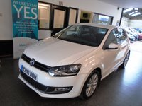 USED 2010 10 VOLKSWAGEN POLO 1.6 SEL TDI 5d 89 BHP This one lady owner Candy white Polo is the rarer 1.6 5 door model, is to £30 tax and will average at least 60 mpg!! Its finished in candy white with Black cloth seats. It is fitted with power mirrors, remote central locking, Alloys, climatic air con, radio CD, power steering, electric windows,  USB port and more. It  comes with an excellent full VW service history, with stamps and a printout including a new cambelt kit @ 50667 miles in May 2018. The Mot runs till May 2019.