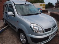 USED 2004 04 RENAULT KANGOO 1.5 EXPRESSION DCI 5d 82 BHP