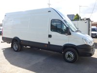 USED 2013 63 IVECO-FORD DAILY 3.0 70C17 LWB TWIN WHEEL, 170 BHP, 1 COMPANY OWNER