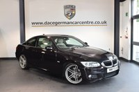 USED 2011 11 BMW 3 SERIES 2.0 318I M SPORT 2DR 141 BHP + FULL OYSTER LEATHER INTERIOR + BMW SERVICE HISTORY + BLUETOOTH + XENON LIGHTS + HEATED SPORT SEATS + CRUISE CONTROL + RAIN SENSORS + PARKING SENSORS + 19 INCH ALLOY WHEELS +