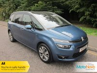 2015 CITROEN C4 GRAND PICASSO 1.6 BLUEHDI EXCLUSIVE PLUS 5d 118 BHP £12000.00
