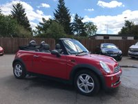 2006 MINI CONVERTIBLE 1.6 ONE 2d 89 BHP WITH ALLOY WHEELS AND AIR CON £2500.00
